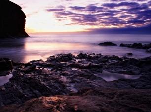 Summer sunset, Cornwall