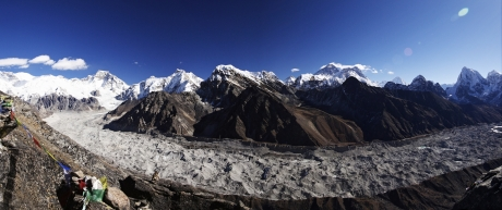 The Everest group from Gokyo Ri