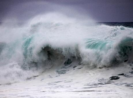 Heavy beachbreak