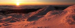 Winter sunset, Ben Cruachan