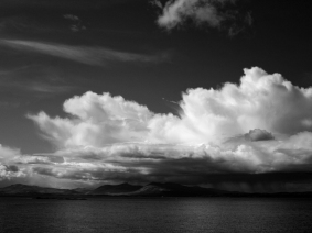 Storm clouds over Mull