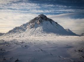 Buchaille Etive Mor, winter sunshine