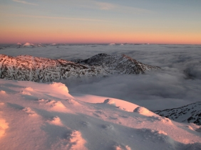 Above the clouds, Ben Cruachan