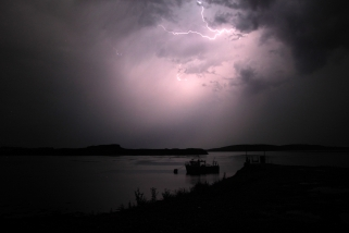 Lightning, Dunstaffnage