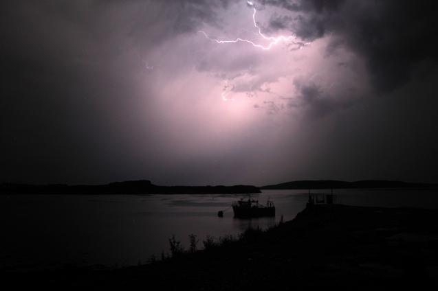 Lightning, Dunstaffnage