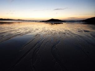Wet sand, Tiree