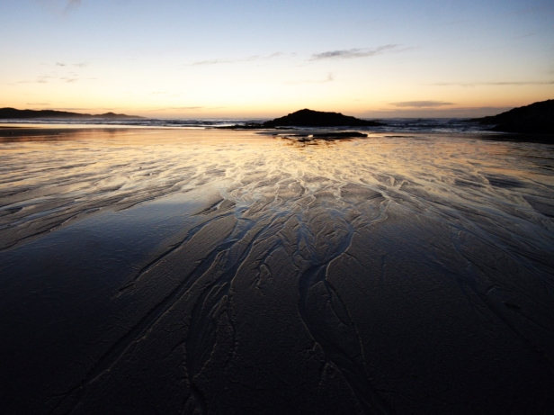 Wet sand, Tiree