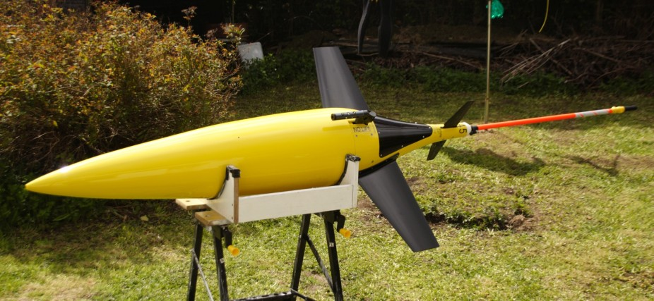 The finished seaglider model