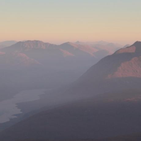 Sunrise over Loch Etive