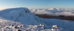 Snow on Rannoch Moor