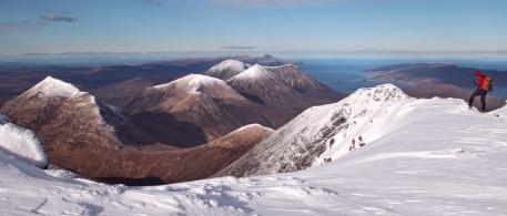 Blaven summit