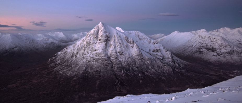 Buchaille Etive Mor winter 1