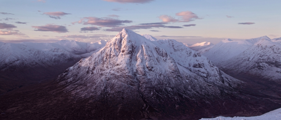 Buchaille Etive Mor winter 2