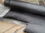 Carbon fibre roll