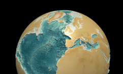 Close-up of North Atlantic and Arctic